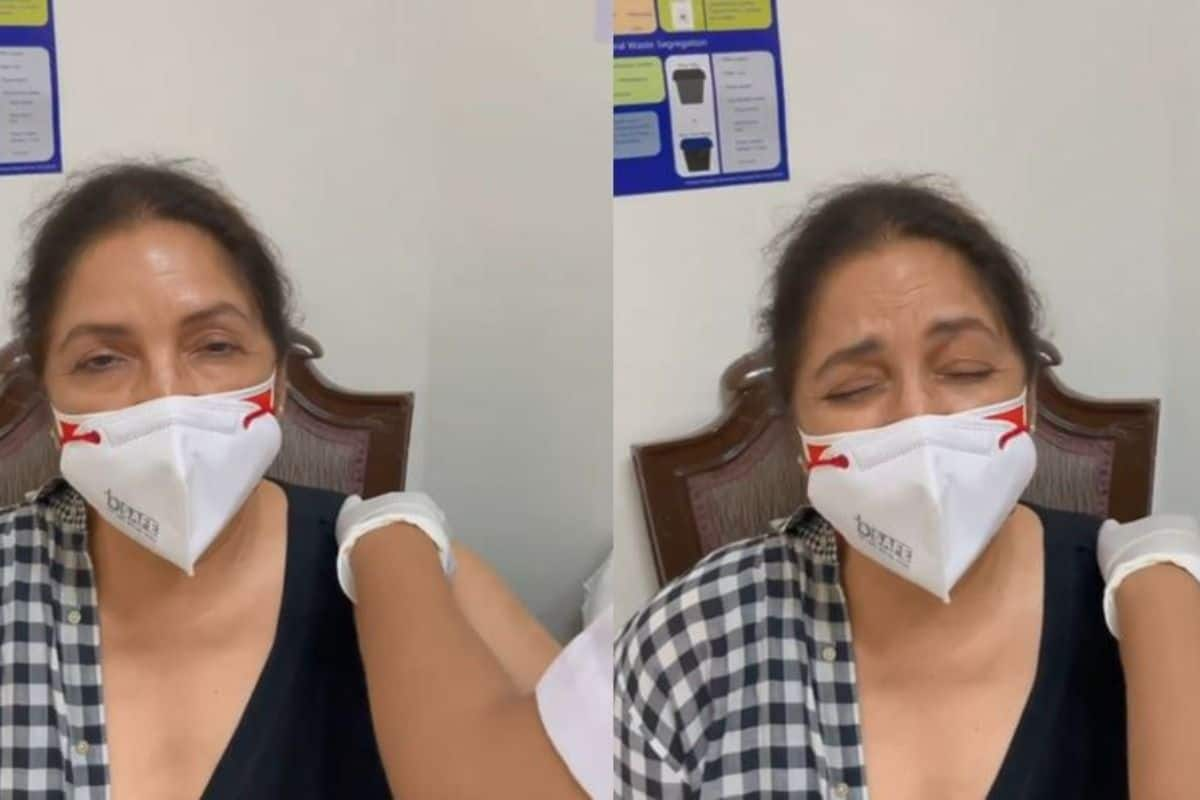 Scared Neena Gupta Shouts 'Mummyyy' as She Gets COVID-19 Vaccine Shot- Video Goes Viral