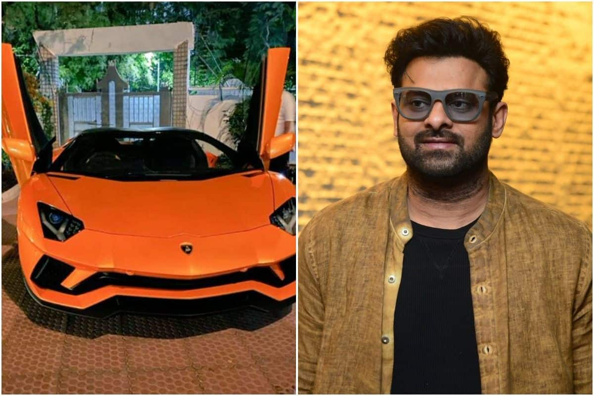 Prabhas Buys a New Lamborghini Aventador Roadster Worth Over Rs 5.5 Crore, Takes it Out For a Ride