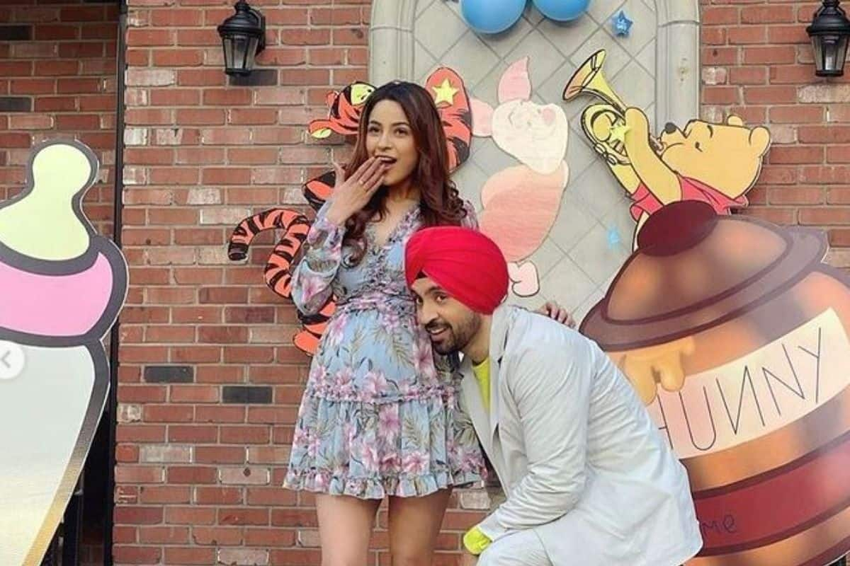 Diljit Dosanjh – Shehnaaz Gill Play Expecting Parents in Honsla Rakh, New Look With Baby Bump Goes Viral