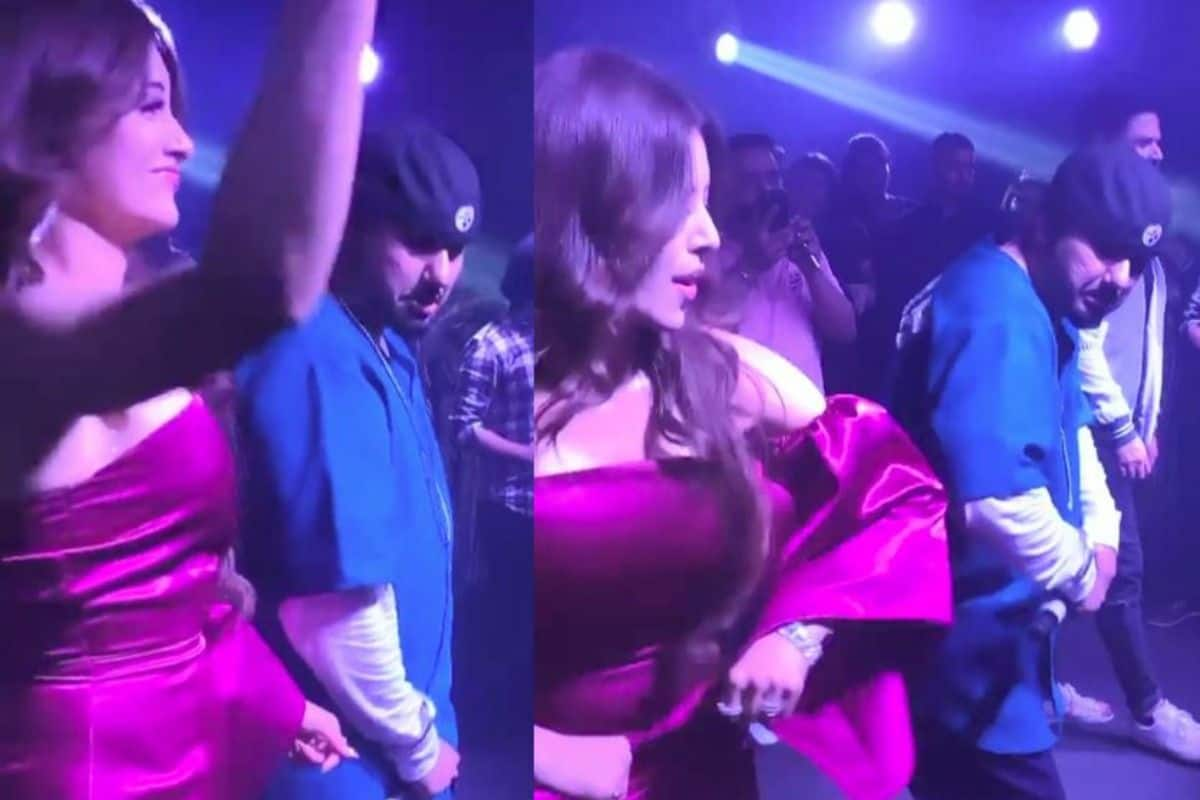 Urvashi Rautella Shares Her First Sexy Striptease as She Dances With Honey Singh, Video Goes Viral