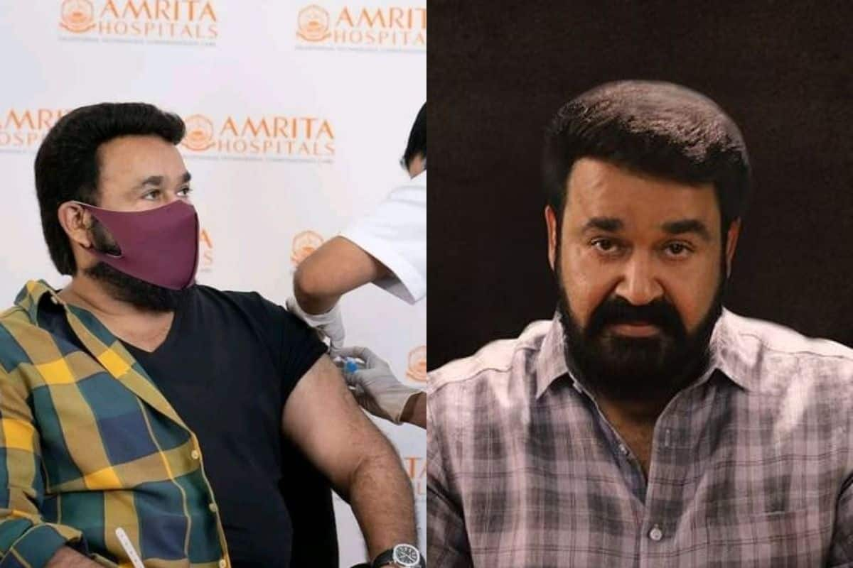 South Actor Mohanlal Shares Pictures on Social Media After Receiving The First Shot of COVID-19 Vaccine