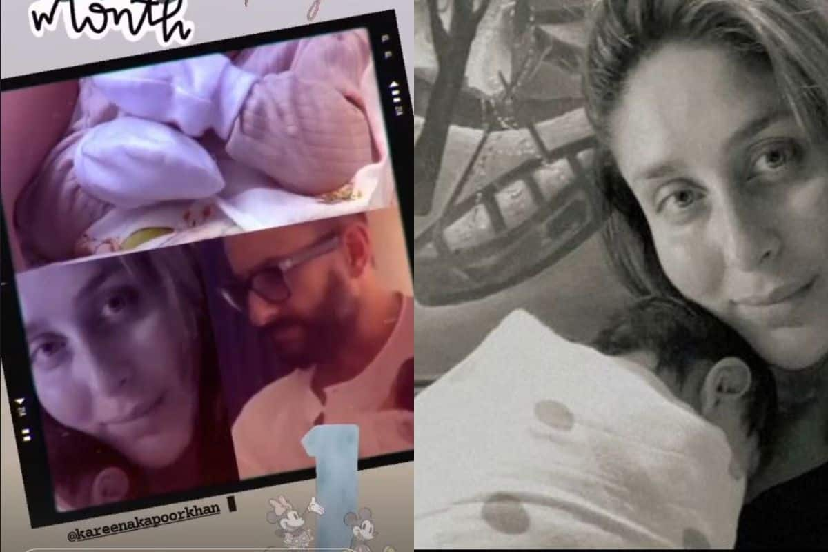 Kareena Kapoor Khan's Newborn Son Turns 1 Month Old, Saba Shares His First Pic With Saif Ali Khan