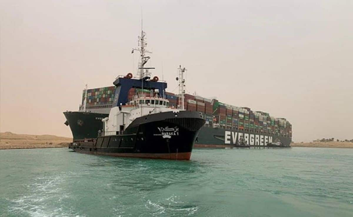 Suez Canal Could Be Blocked For Weeks; All-Indian Crew of Ever Given Container Ship Safe