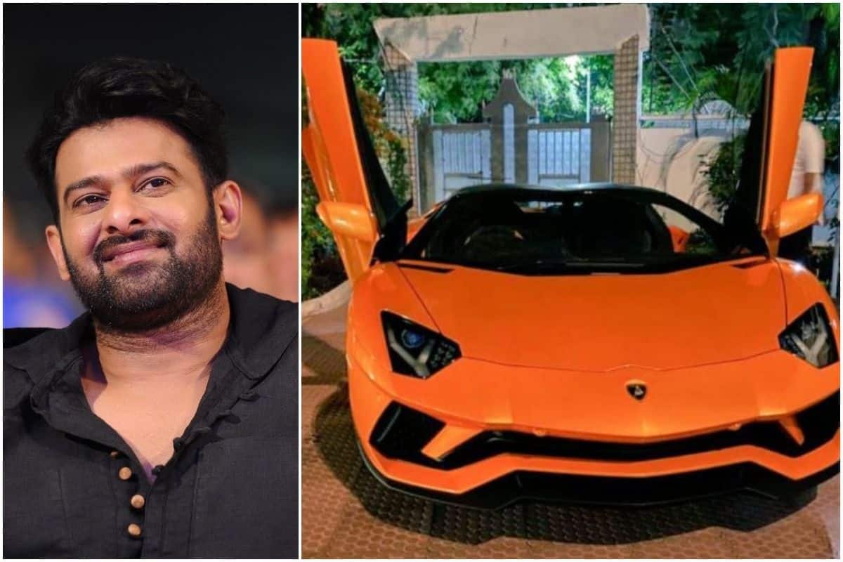 Prabhas Turns Heads As He Rides Rs 6 Crore Lamborghini in Hyderabad, Fans Go Crazy