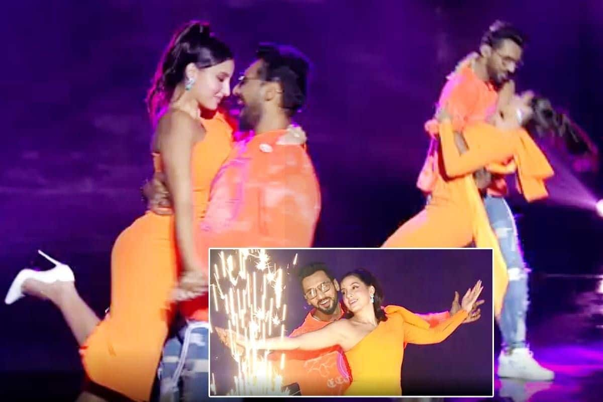 Nora Fatehi And Punit Pathak