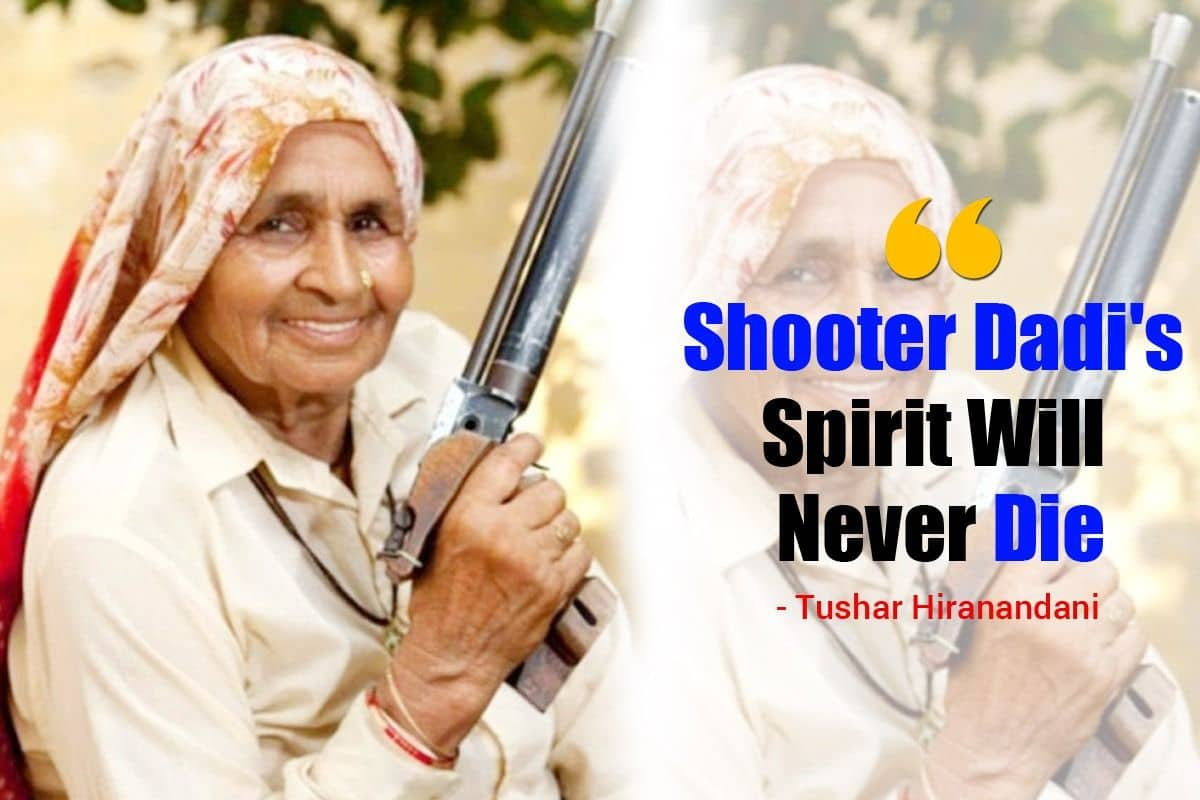 'Chandro Tomar Aka Shooter Dadi's Spirit Will Never Die', Saand Ki Aankh Director Tushar Hiranandani Mourns Loss Of A 'Wonderful Personality'