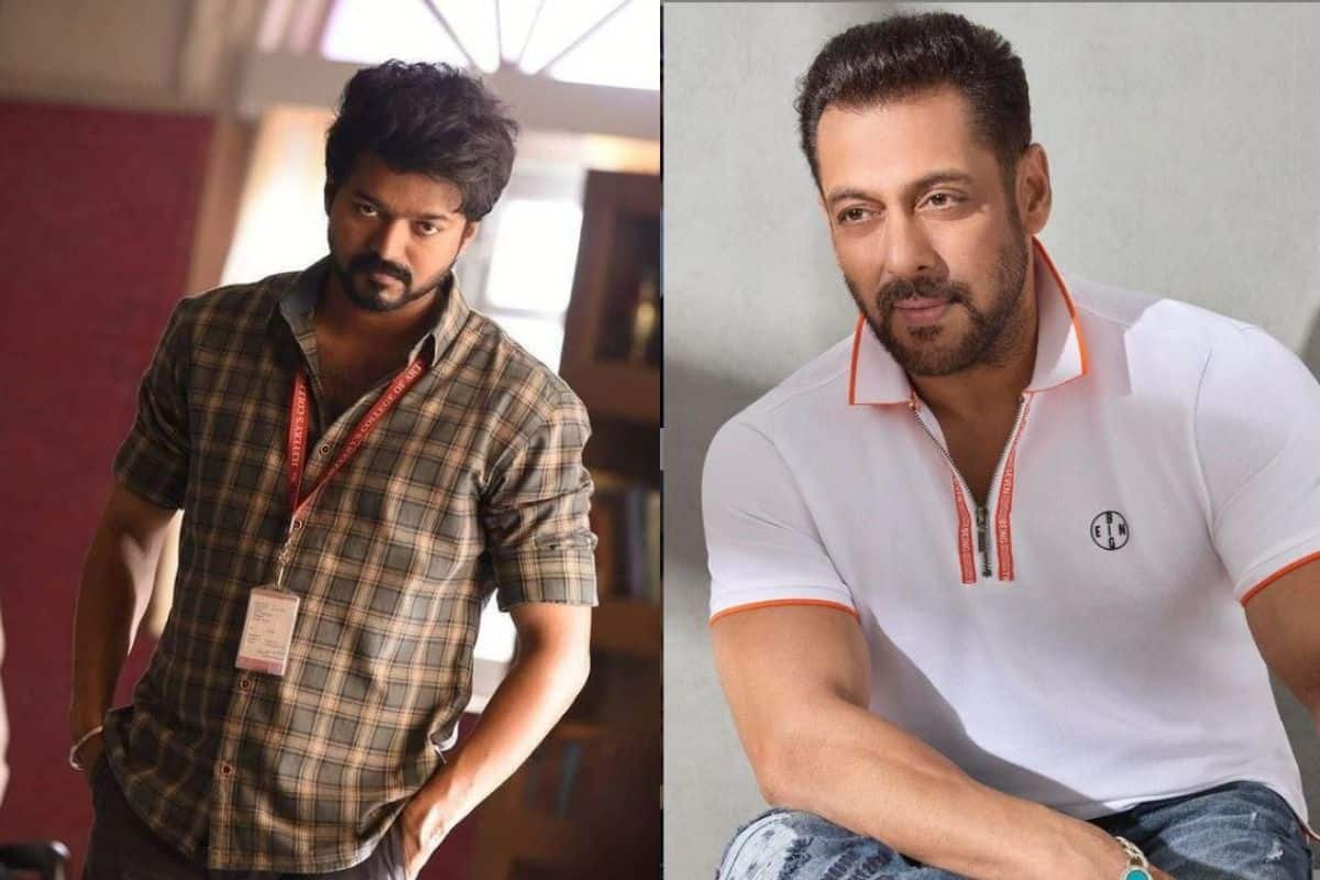 Salman Khan Approached For Master Remake? Netizens Say He Cant Act Like Thalapathy Vijay