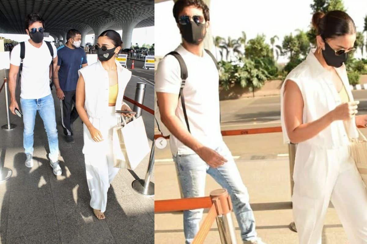 Ranbir Kapoor – Alia Bhatt Jet Off to Maldives Amid Maharashtra Janta Curfew – See Photos