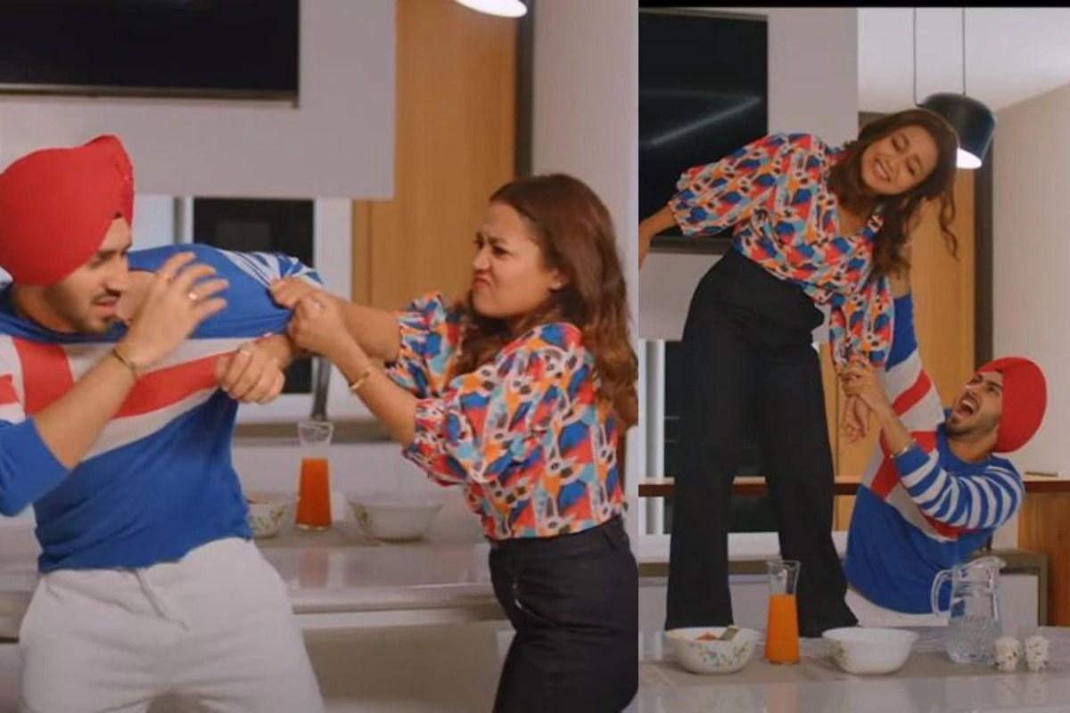 Neha Kakkar-Rohanpreet Singh Show Cute 'Nok-Jhoks' After Marriage