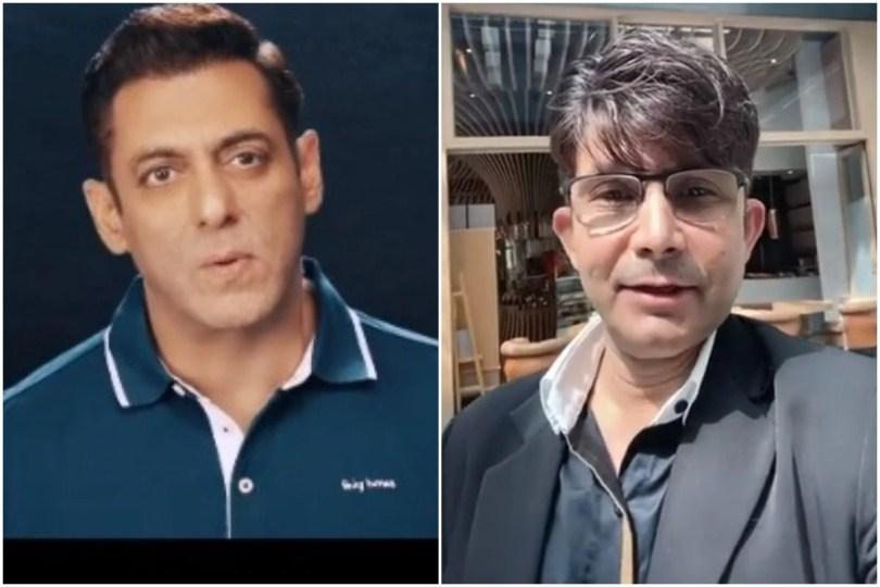 Sadak Par Le Aaoonga! KRK Threatens To Destroy Salman Khan
