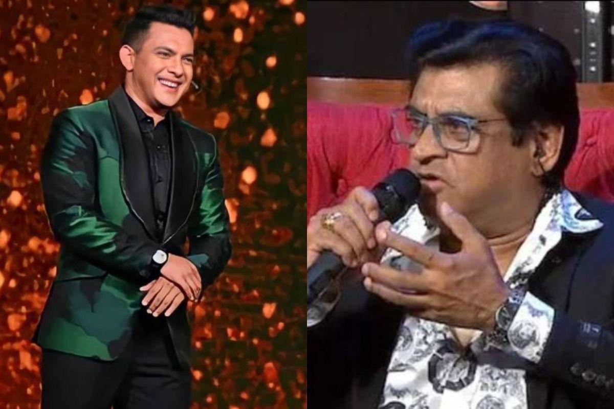 Aditya Narayan Reacts To Amit Kumar