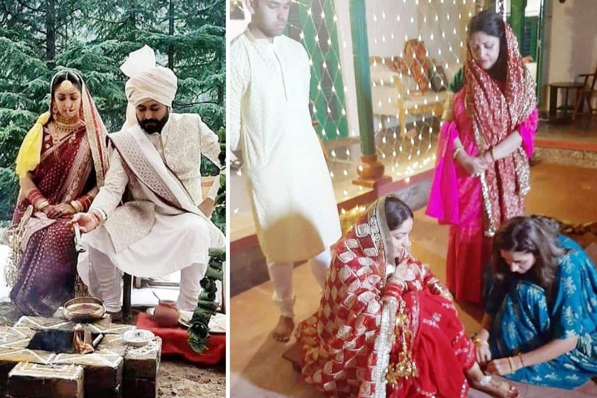 Yami Gautam-Aditya Dhar Unseen Wedding Pictures Go Viral, Couple Performs Wedding Rituals