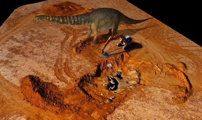 Meet Largest Dinosaur Ever Walked on Earth: Two Storeys Tall And A basketball Court Long
