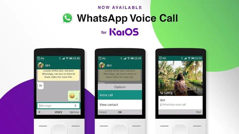 WhatsApp Voice Calls Now Available on Jio Phone, Other KaiOS-Based Feature Phones