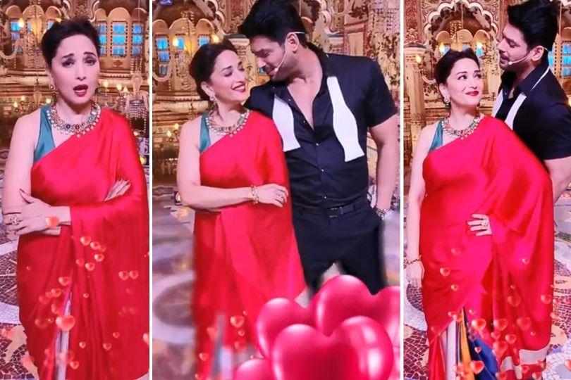 Sidharth Shukla-Madhuri Dixit Turn Jackie Shroff-Dimple Kapadia As They Groove To Tera Naam Liya