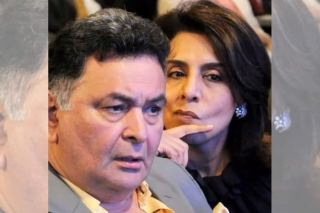 Neetu Kapoor Shares Ironical Picture With Rishi Kapoor As She Have Birds-Eye View