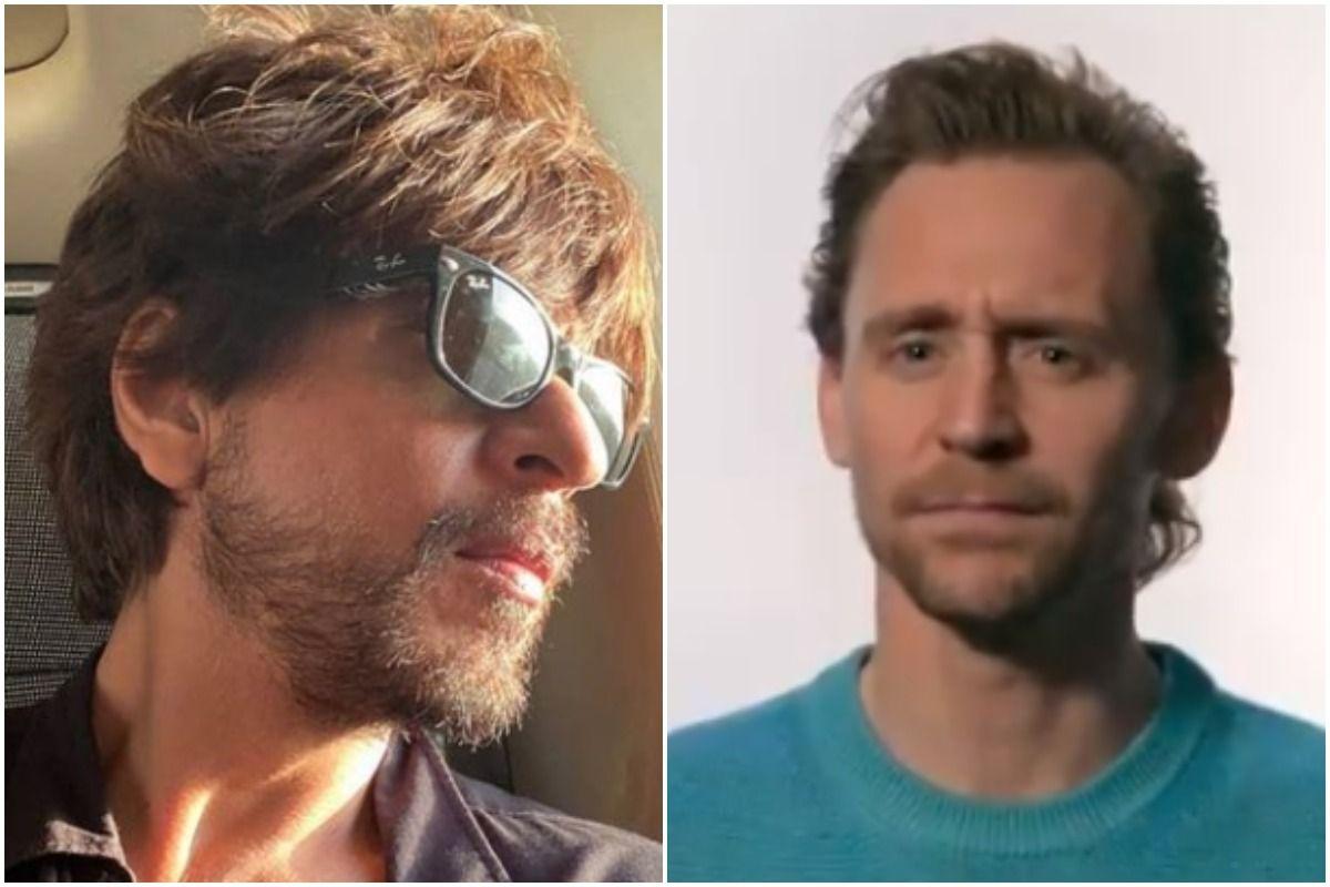 Shah Rukh Khan Responds to Tom Hiddleston aka Loki Bollywood = SRK Comment