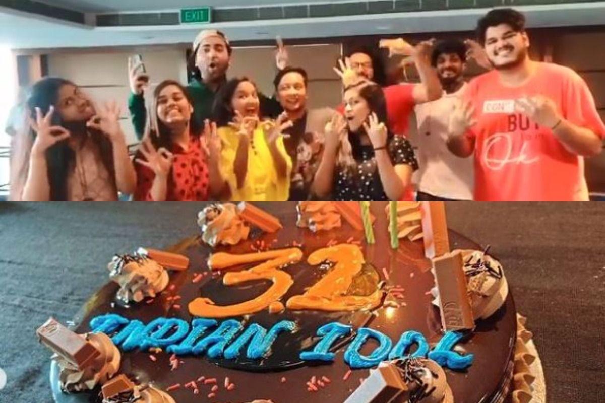 Shanmukhapriya, Pawandeep, Arunita Celebrate, Cut Cake as