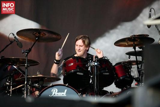 Heaven Shall Burn în concert la Rock The City 2013