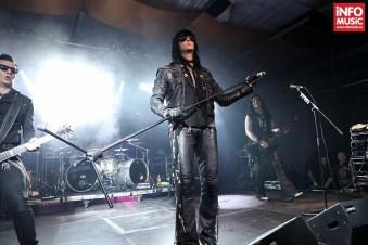 The 69 Eyes în concert la Maximum Rock Festival pe 26 octombrie 2013 la Turbohalle