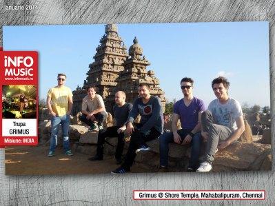 Grimus @ Shore Temple, Mahabalipuram, Chennai