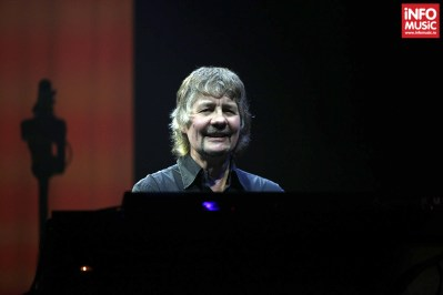 Don Airey în concert Deep Purple la Sala Polivalenta din București pe 20 februarie 2014