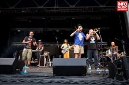 Basska în deschiderea concertului The Cat Empire la Arenele Romane pe 31 iulie 2014