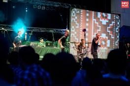 Subcarpati în deschiderea concertului The Cat Empire la Arenele Romane pe 31 iulie 2014