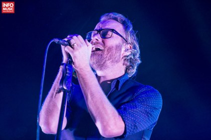 Matt Berninger, concert The National la Summer Well 2014