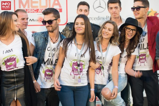 Fanii lui Smiley la Media Music Awards 2014 - Sibiu