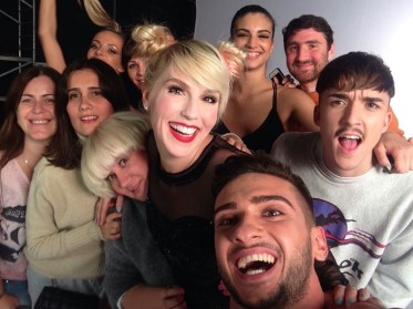 """Corina și Dorian Popa la filmarea clipului """"Nimeni altcineva"""""""
