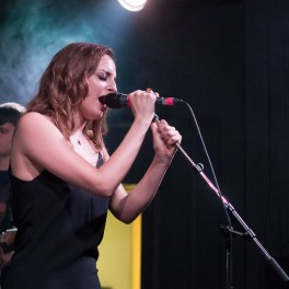 Concert Francesca Belmonte în Club Control din București pe 21 mai 2015