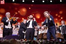 Gheorghe Zamfir, invitat special în concertul lui Andre Rieu