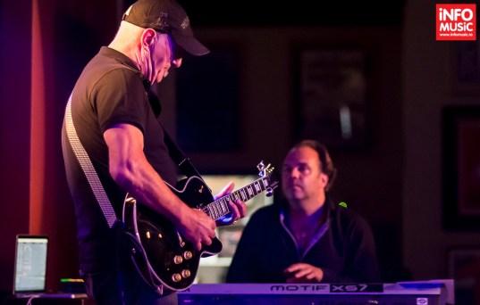 Concert Jan Akkerman pe 20 august 2015 în Hard Rock Cafe