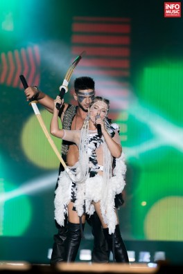 Corina și Dorian Popa la Media Music Awards 2015