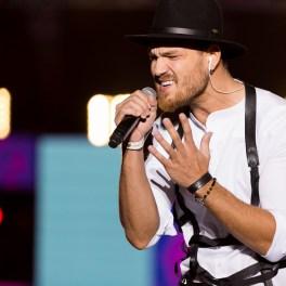 Peter Pop în concert la Media Music Awards 2015