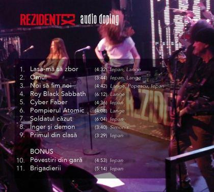 """Rezident EX - """"Audio Doping"""" (tracklist album)"""