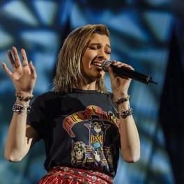 Alina Eremia în concertul Damian & Brothers de pe 31 martie 2017