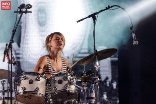 Louise Bartle - Bloc Party în concert la TimeShift Festival 2017