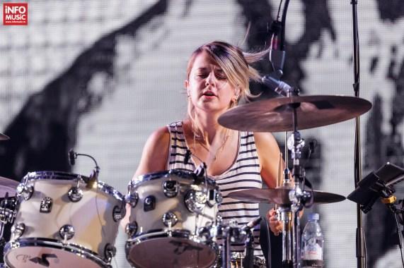 Louise Bartle - Bloc Party în concert la TimeShift Festival 2017