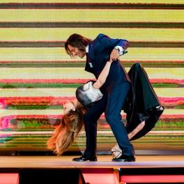 Iulia Vântur și Gabriel Garko la Gala Festivalului Cerbul de Aur 2018