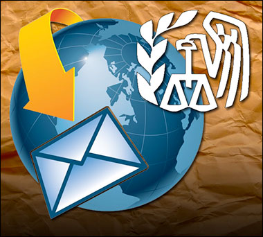 IRS Violates Fourth Amendment email