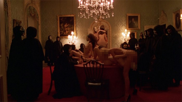 "Scene from Kubrick's 2009 ""Eyes Wide Shut'"
