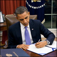 Obama is making his own laws, usurping power from Congress.