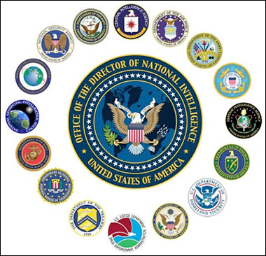 A constellation of federal government intelligence agencies.