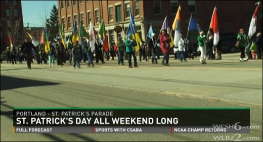 St. Patrick's Day celebration, Portland, Maine / WCSH
