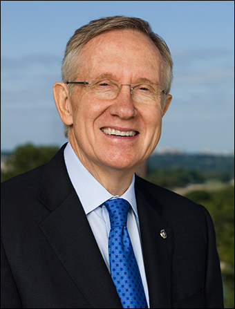 Corrupt Democratic Sen. Harry Reid (D-Nev.)