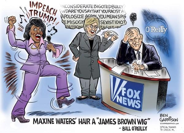Maxine Waters Political Cartoons
