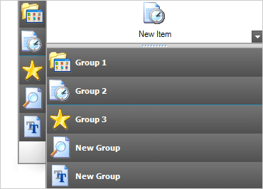 Explorer Bar Component Winforms Ultimate Ui