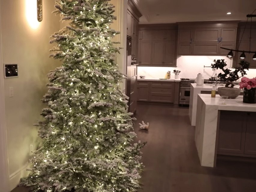 Kylie Jenner Reveals She Has At Least 4 Full Sized Christmas Trees In Her Los Angeles Mansion Including One That S 18 Feet Tall Business Insider